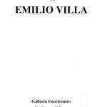 Vuoto di memoria - Emilio Villa
