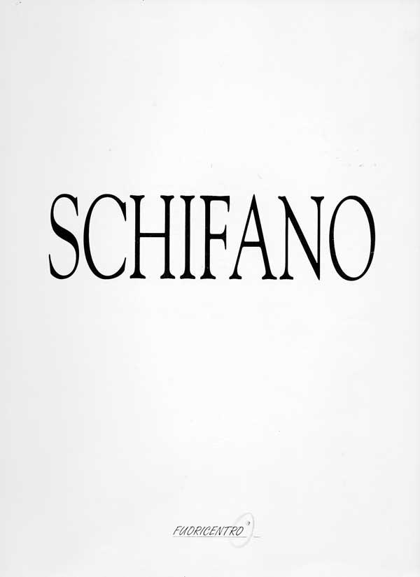 Mario Schifano - Galleria Fuoricentro 1999