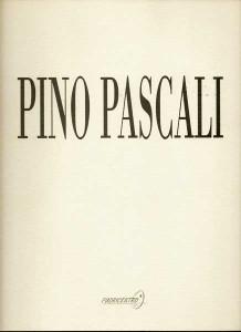 Copertina Catalogo Pino Pascali, giugno 98 Galleria Fuori Centro