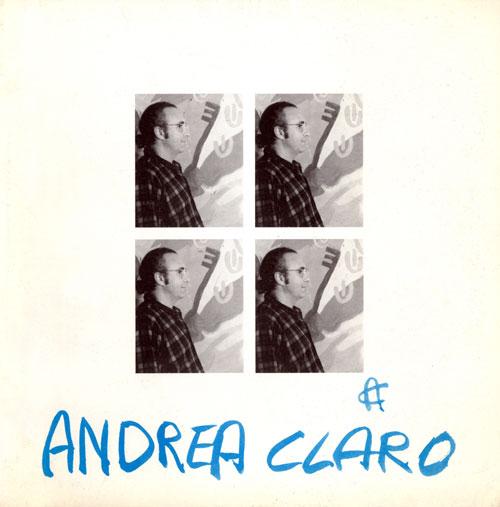 Andrea Claro - Catalogo mostra