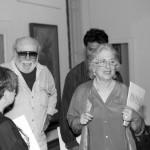 Lodolo e visitatori della mostra